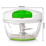 Механический измельчитель продуктов и овощей Easy Spin Cutter / Кухонный ручной измельчитель, фото 9