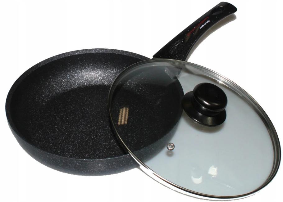 Алюмінієва сковорода з антипригарним покриттям Смаження Pan Wimpex WX2405 (Teflon) 24 см Краща ціна!