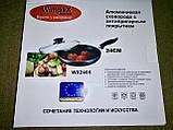 Алюмінієва сковорода з антипригарним покриттям Смаження Pan Wimpex WX2405 (Teflon) 24 см Краща ціна!, фото 4