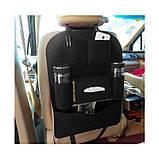 Органайзер для спинки сиденья автомобиля Vehicle mounted storage bag, фото 3