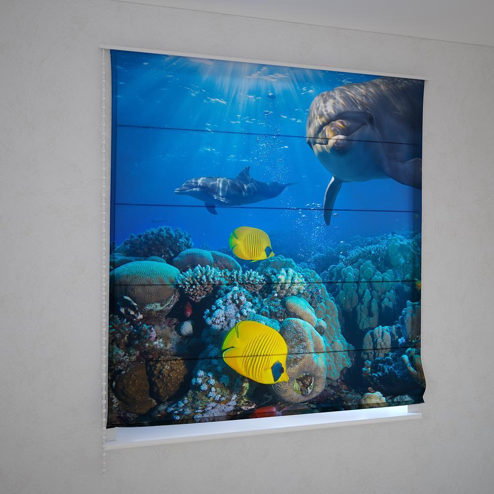 Римські штори підводний світ