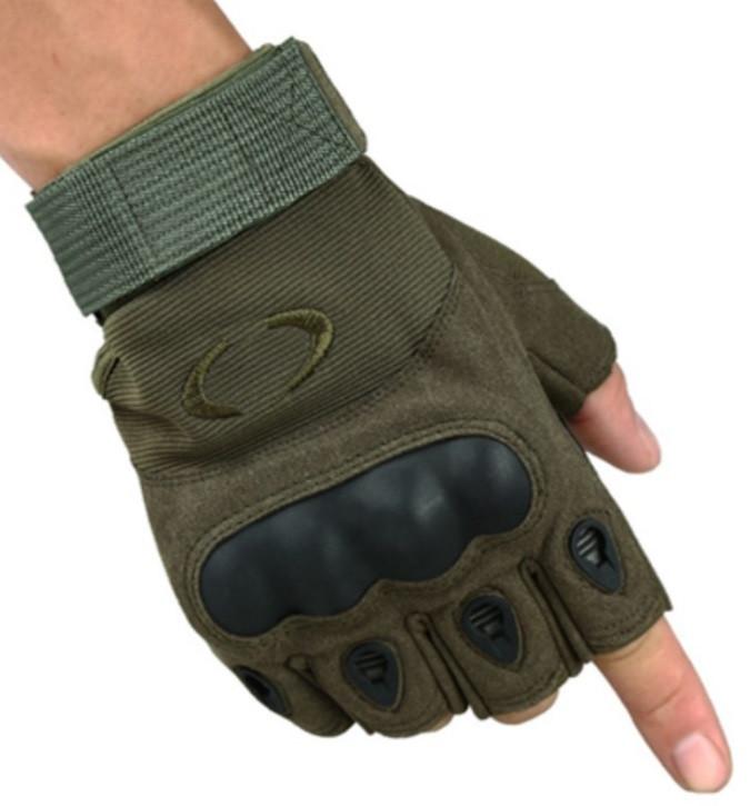 Рукавички без пальців штурмові тактичні Oakley
