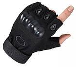 Рукавички без пальців штурмові тактичні Oakley, фото 4