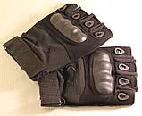 Рукавички без пальців штурмові тактичні Oakley, фото 8