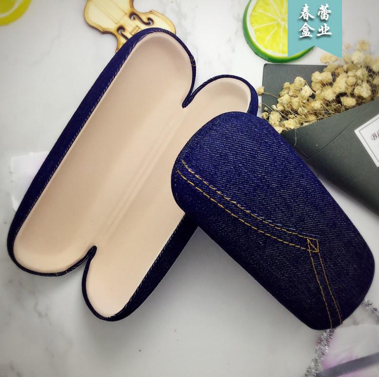 Футляр чохол для окулярів Jeans твердий