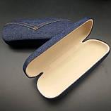 Футляр чохол для окулярів Jeans твердий, фото 3