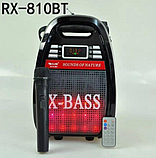 Бездротова колонка Bluetooth Golon RX-810BT, портативна колонка з мікрофонним виходом, USB, карта пам'яті, фото 3