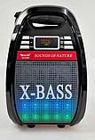 Бездротова колонка Bluetooth Golon RX-810BT, портативна колонка з мікрофонним виходом, USB, карта пам'яті, фото 5