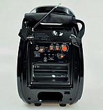 Бездротова колонка Bluetooth Golon RX-810BT, портативна колонка з мікрофонним виходом, USB, карта пам'яті, фото 6