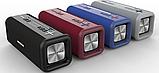 Портативна колонка Bluetooth HOPESTAR T9 вологостійка тканинна / Потужна блютуз колонка / Акустична система, фото 3