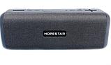 Портативна колонка Bluetooth HOPESTAR T9 вологостійка тканинна / Потужна блютуз колонка / Акустична система, фото 4