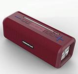 Портативна колонка Bluetooth HOPESTAR T9 вологостійка тканинна / Потужна блютуз колонка / Акустична система, фото 6