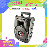 Портативна колонка Bluetooth BT806 у вигляді міні-валізи / Габаритна колонка / Акустична систма блютуз, фото 2