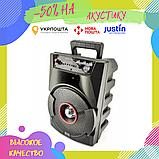 Портативная колонка Bluetooth BT806 в виде мини-чемодана / Габаритная колонка / Акустическая систма блютуз, фото 2