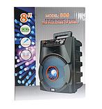 Портативна колонка Bluetooth BT806 у вигляді міні-валізи / Габаритна колонка / Акустична систма блютуз, фото 3
