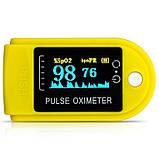 Пульсоксиметр пальчиковый DJ-10S OLED-экран Пульсометр компактный, Пульсоксиметр беспроводной, Окс, фото 9