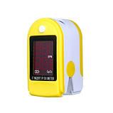 Пульсоксиметр пальчиковый DJ-10S OLED-экран Пульсометр компактный, Пульсоксиметр беспроводной, Окс, фото 10