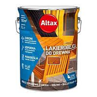 LAKIEROBEJCA DO DREWNA - Защитно-декоративное покрытие для древесины. ALTAX