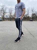Мужской спортивный костюм серый, брендовый комплект футболка и штаны Under Armour Турция