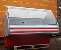 Низькотемпературна вітрина (морозильна) «Технохолод Невада» 1.6 м. (Україна), широка викладка 70 см, Б/в