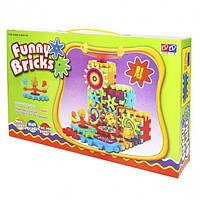 Детский развивающий конструктор 3D Funny Bricks Magic Gears 81 деталь