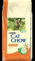 Cat Chow Adult с курицей и индейкой 15 кг.