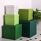 Квадратні коробки для квітів 15*15*15 см, фото 3