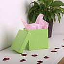 Квадратні коробки для квітів 15*15*15 см, фото 2