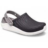 Crocs Kids LiteRide Clog Black/White