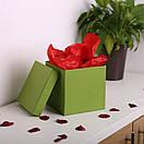 Квадратные коробки для цветов 20*20*20 см, фото 2