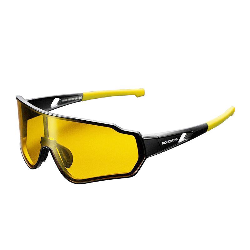 Велосипедные очки Rockbros RB-SP203 желтые