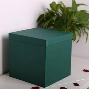 Квадратные коробки для цветов 25*25*25 см