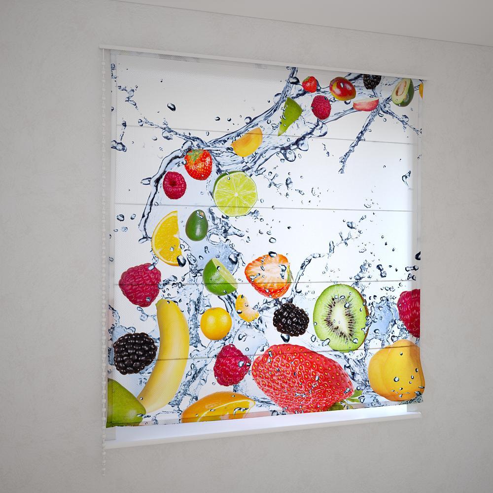 Римські штори фруктовий мікс