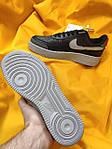 Мужские кроссовки Nike Air Force 1 Low '07 LV8 Utility (черно-серые) стильная обувь D114, фото 5