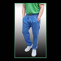 Мужские стильные джинсы-бананы, батал.