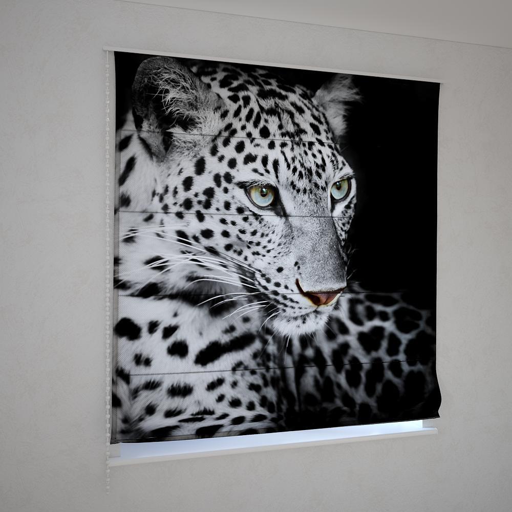 Римські штори леопард