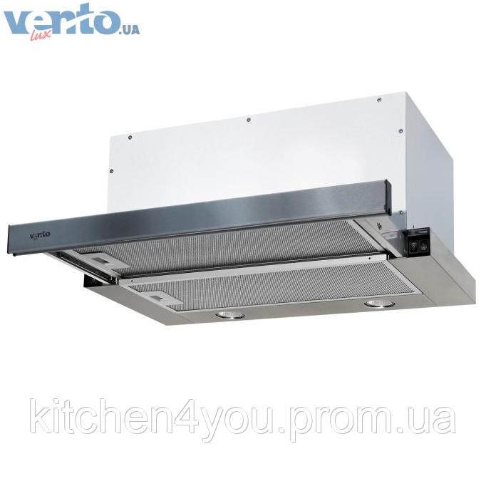 Вбудована, телескопічна кухонна витяжка Ventolux Garda 60 inox (750) IT нержавіюча сталь
