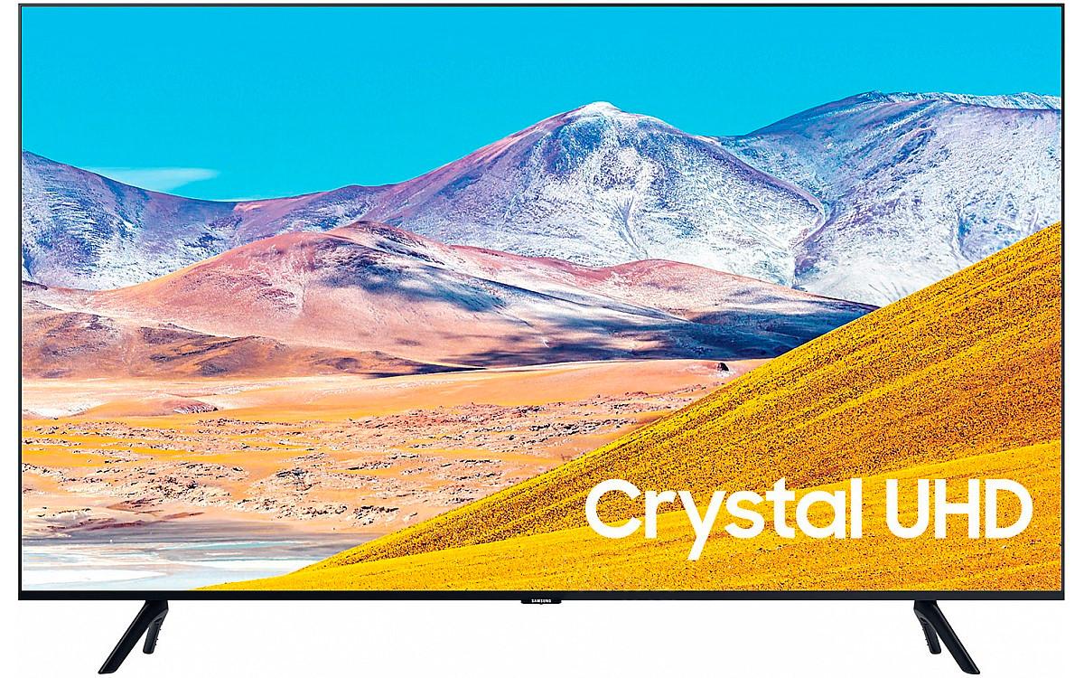 Телевізор Samsung UE75TU8079 (PPI 2100Гц / 4K / Smart / 60 Гц / DVB/T2/S2)