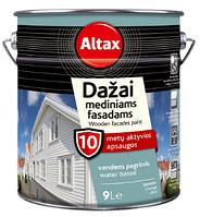 FARBA DO DREWNIANYCH ELEWACJ - Краска для древесины на водной основе. ALTAX