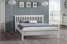 Ліжко двоспальне з масиву дерева Сідней 160х200 Мікс меблі, колір на вибір