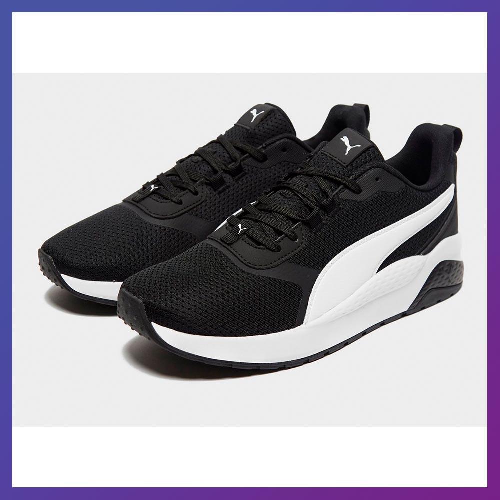 Мужские кроссовки Puma Anzarun Basis черные. Пума Оригинал 46 размер