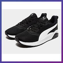 Чоловічі кросівки Puma Anzarun Basis чорні для бігу. Пума Оригінал 46 розмір