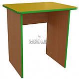 Стол детский одноместный из ДСП. Столы для детских садов, фото 2