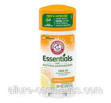 Прозрачный дезодорант без металлов Arm & Hammer Essentials Deodorant with Natural Deodorizers Orange Citrus