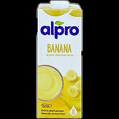 """Молоко """"Алпро"""" безлактозное Банановое из СОИ 1л, 8шт/ящ"""