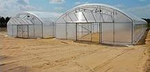 Теплиця фермерська TLF 9600 МОНБЛАН 9,6х20х4,7 (2,5)м з оцинкованої труби (Каркас!)