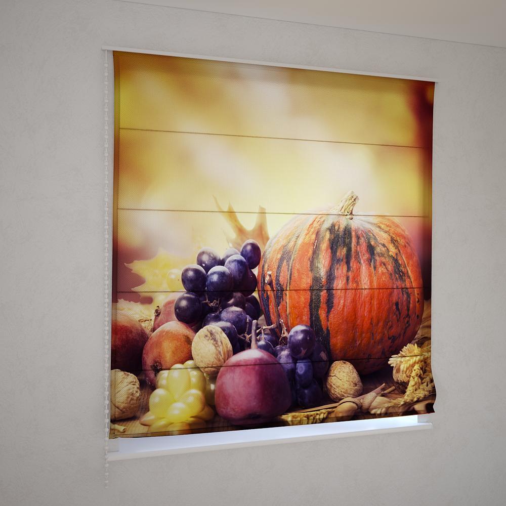 Римські штори дари осені