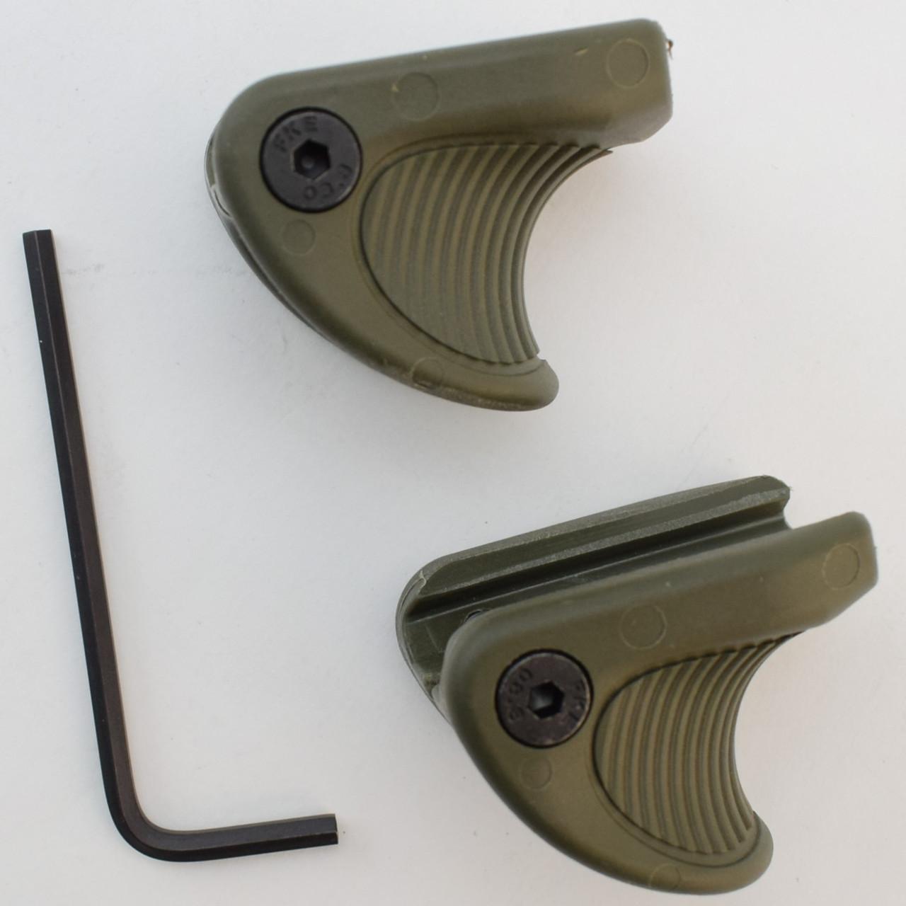 Комплект тактических упоров Fab Defense VTS (2шт.), зеленый