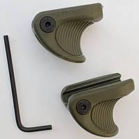 Комплект тактических упоров Fab Defense VTS (2шт.), зеленый, фото 1