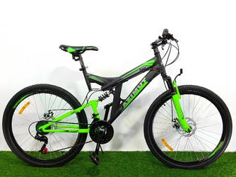 """Велосипед Azimut Power 26"""" GD рама 19,5"""